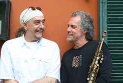 Mauro Senise com Egberto Gismonti