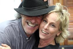 Mauro Senise com Deborah Colker